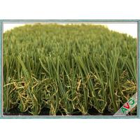 Monofilament Decorative Garden / Landscaping Artificial Grass Wall Non - Infill