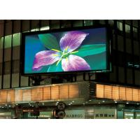 Wholesale Commercial LED Outdoor Advertising Screens P5 P6 Full Color Wide View Angle from china suppliers