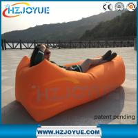 Quality New design!!!Best Selling Products two Mouth nylon laybag Inflatable lazy bag Air Sofa for sale