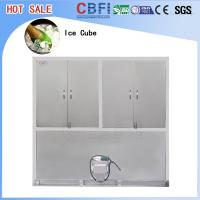 Wholesale Large Production Ice Cube Machine / Water Cooled Ice Maker Stainless Steel 304 from china suppliers