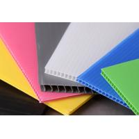 Wholesale Light Weight Rigid Strong Polypropylene Hollow Sheet For Building Construction from china suppliers