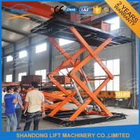 Wholesale Vertical Parking System Car Mini Lift Residential Pit Garage Parking Car Lift from china suppliers