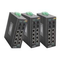 Wholesale Unmanage Industrial Gigabit ethernet switch din rail  802.3z Standards 8 port switch poe from china suppliers