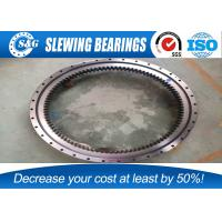 Wholesale Electricity Equipment Single Row Slew Ring Bearings , Four Point Contact Ball External Gear from china suppliers