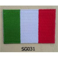 Wholesale Italy Flag Iron On Sew On Cloth Patch from china suppliers