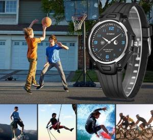 Buy cheap Wholesale Synoke Waterproof 50m Ultra Thin Pu Strap Japanese Quartz Fashion Sport Wrist Watch 9618 from wholesalers