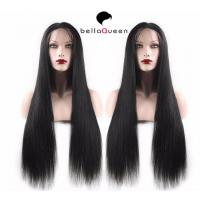 Wholesale Stock Soft Malaysian Micro Braided Long Straight Full Lace Wigs Human Hair from china suppliers