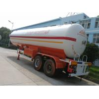 Wholesale factory sale best price Double axles 40.5cbm LPG tanker semi-trailer, 2017s CLW brand 17metric tons lpg gas tank trailer from china suppliers