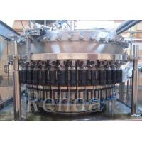 Wholesale Automatic Beer Bottle Filler Machine With Washing / Filling / Capping Function from china suppliers