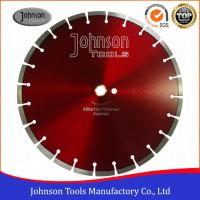 Wholesale SGS Approved Asphalt Cutter Blade , Black Diamond Blade For Asphalt  from china suppliers