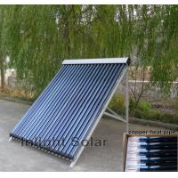Wholesale Heat Pipe Solar Collector with 45 Degree Angle Frame For Hospital from china suppliers