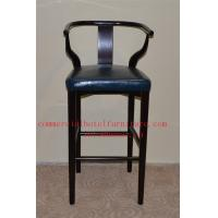 Wholesale Elegant Dining Room Furniture Urban Armchair Wood Bar Chair With Leather Seat from china suppliers