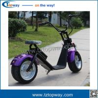 Wholesale Original Factory 72V12H 1200W Citycoco eec Electric Scooter Model citycoco/seev/woqu from china suppliers