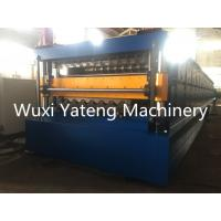 Quality 7.5KW H-Beam Base Sheet Metal Forming Equipment , High Precision Wall Panel Machine With Chain Drive for sale