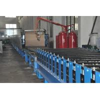 Wholesale Automatic Polyurethane Sandwich Panel Manufacturing Line With 1220mm Coil Width from china suppliers