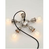 Wholesale Steampunk Bronze Pendant Lamps Five Holder Restaurant D60*H35cm from china suppliers