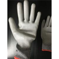 Wholesale 13 gauge Knitted Cut level 3 coated PU palm gloves/Cut resistant gloves from china suppliers