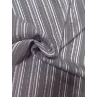 Quality T/R/SP SUITING FABRIC ITALIA STYLE 340G/M JACUQRD STRIP FASHION STYLE for sale