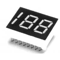 Wholesale Common Anode Cathode 0.40 Inch Dual Half Digit LED Digital Display Yellow Green Color from china suppliers