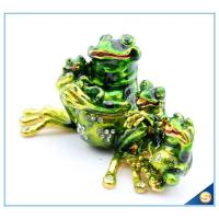 Wholesale Hot Sale Lovely Frog Trinket Box Fashion Jewelry Box For Family's Gift SCJ808 from china suppliers