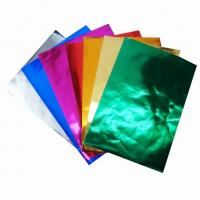 Wholesale Color Aluminium Foil Paper,Papel Oropel from china suppliers