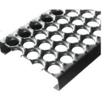 Wholesale Round Holes Wide Steel Floor Grating Carbon Steel Metal Gratings from china suppliers