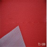 Wholesale pvc leather for car seats with woven backing from china suppliers