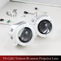 Quality Fashion Design 2.5 inch  CCFL angel eyes Bi-xenon projector oem High Low Beam Retrofit Car Headlamp for sale