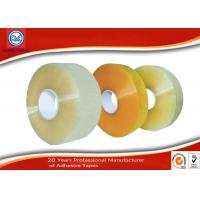 Wholesale Anti - vibration BOPP Packaging Tape , Packing Adhesive Tape Machine Roll from china suppliers