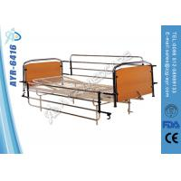 Wholesale Full Length Stainless Steel Side Rails Nursing Home Beds With Mesh Bed Frame from china suppliers