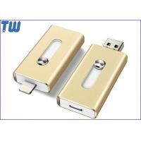 Wholesale iPhone External Drive OTG USB Pen Drives Sliding Double Interface from china suppliers