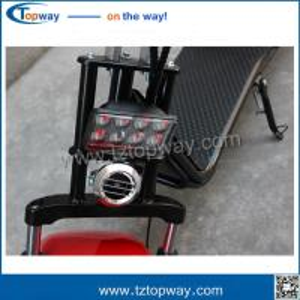 Quality 60V12AH Li-ion battery Disc-brake Hydraulic brake citycoco 2017 new 50km mileage for sale