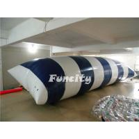 Wholesale 0.9MM PVC Tarpaulin Inflatable Lake Toys , Water Proof Inflatable Water Blob from china suppliers