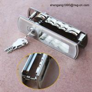Wholesale sliding door lock & handle Decorative Zinc Alloy Sliding Door Key Lock and Handle from china suppliers