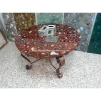 Wholesale Red Agate Semiprecious Stone Round Table Top from china suppliers
