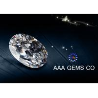 Wholesale ODM / OEM White Oval Moissanite 3 Carat Forever Brilliant Oissanite from china suppliers
