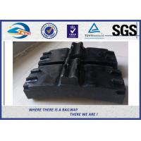 Wholesale Low Friction Train Wheel Composite Brake Block Cast Iron / Locomotive Brake Shoe from china suppliers