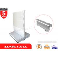 Wholesale Euro Style Gondola Store Shelving With Dismountable Base Leg For Retail Store / Supermarkets from china suppliers