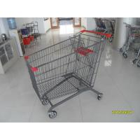 Buy cheap Zinc Plating 270L Steel Supermarket Shopping Carts  Mainly For European from wholesalers