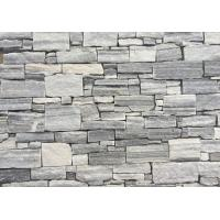 Buy cheap Cloudy Grey Quartzite Zclad Stacked Stone Backed Steel Wire,Silver Cloud Stone Cladding,Natural Culture Stone Panels from wholesalers