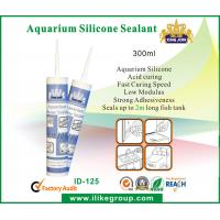 Wholesale 300ml Acid Curing Aquarium Silicone Sealant , Waterproof And Non Corrosive from china suppliers