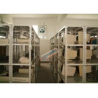 Wholesale Storing Slotted Angle Storage Racks , Light Duty Boltless Rivet Shelving 600mm Deep from china suppliers