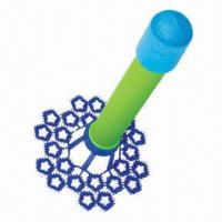 Wholesale Rocket Blowing Bubble Toy, Benzene, Cadmium, Phthalate-free from china suppliers
