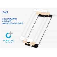 Wholesale Full Cover Silk Print Tempered Glass Screen Guard Protector OEM For One Plus Three from china suppliers