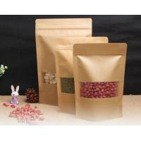 Wholesale Resealable Kraft Paper Bags With Window from china suppliers