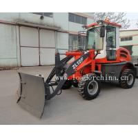 Wholesale 1.2t small loader ZL12F with pallet fork/bale grapple from china suppliers