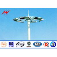 Wholesale Octagonal Stadium Football High Mast Tower Light Pole Custom 30M For Seaport from china suppliers