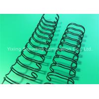 Quality Durable Spiral Double Loop Wire 31.8mm No Fade Turning Pages Smoothly for sale