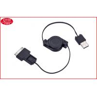 Wholesale High speed USB to micro USB / 30 pin Travel USB Tools Retractable Power Cord from china suppliers