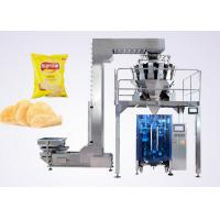 Wholesale Puffed Food VFFS Packaging Machine for Potato Chips with Electronic Multi-head Weigher from china suppliers